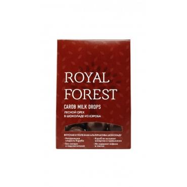 Фундук в шоколаде из кэроба Royal Forest, 75 гр