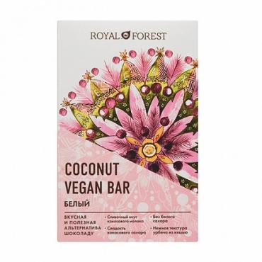 Веганский белый шоколад Royal Forest, 50 гр