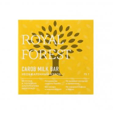 """""""Шоколад"""" из необжаренного кэроба Royal Forest, 75 гр"""