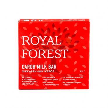 """""""Шоколад"""" из обжаренного кэроба Royal Forest, 75 гр"""
