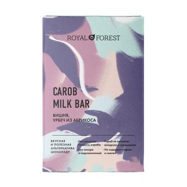 """""""Шоколад"""" из кэроба с вишней и урбечем из абрикоса Royal Forest, 50 гр"""