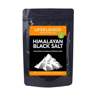 Гималайская черная соль UFEELGOOD, 200 гр