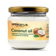 Кокосовое масло (холодный отжим) UFEELGOOD, 300 мл
