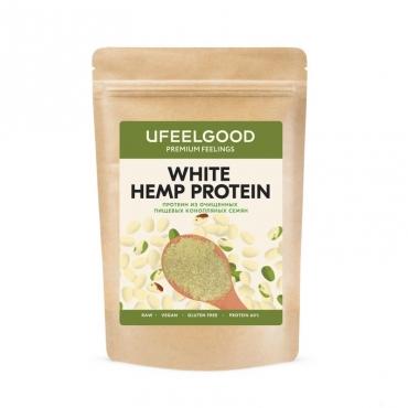 Конопляный протеин молотый из белых семян Ufeelgood, 200 гр