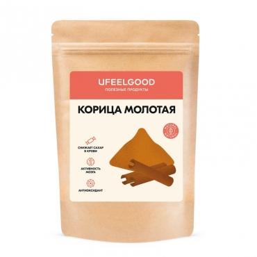 Корица молотая UFEELGOOD, 100 гр