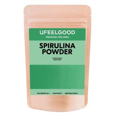 Спирулина (порошок) Ufeelgood, 100 гр