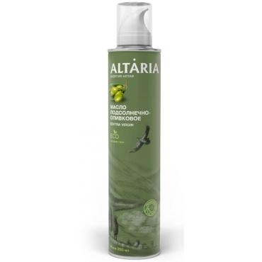 Подсолнечно-оливковое масло-спрей нерафинированное первого холодного отжима Altaria, 250 мл