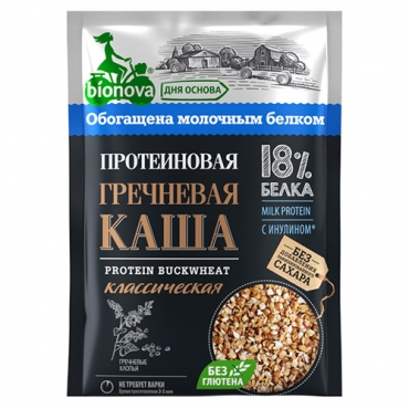 "Протеиновая каша ""Гречневая"" Bionova, 40 гр"