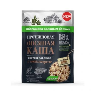 """Протеиновая каша """"Овсяная с шоколадом"""" Bionova, 40 гр"""
