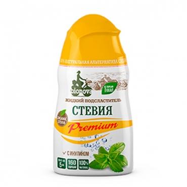"""Жидкий столовый подсластитель """"Стевия Premium"""" Bionova, 80 гр"""