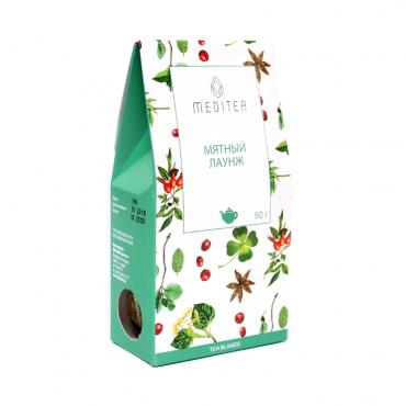 """Напиток чайный """"Мятный лаунж"""" Meditea, 50 гр"""