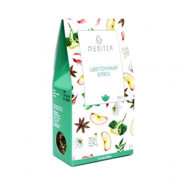 """Напиток чайный """"Цветочный блюз"""" Meditea, 50 гр"""