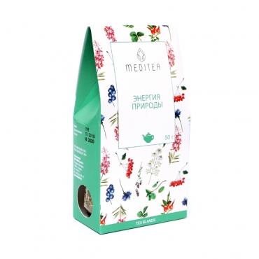 """Напиток чайный """"Энергия природы"""" Meditea, 50 гр"""