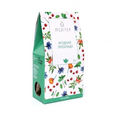 """Напиток чайный """"Ягодная прохлада""""  Meditea, 50 гр"""
