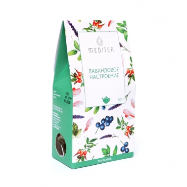 """Напиток чайный """"Лавандовое настроение"""" Meditea, 50 гр"""