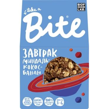 "Гранола Bite ""Миндаль-кокос-банан"", 270 гр"