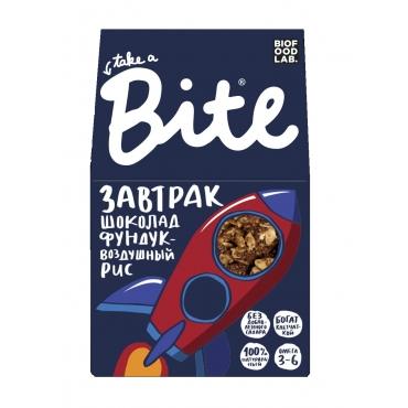 "Гранола Bite ""Шоколад-фундук-воздушный рис"", 270 гр"