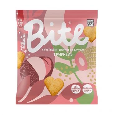 Хрустящие паффы со вкусом «Трюфель» Bite, 30 гр