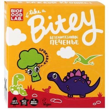 "Печенье безглютеновое Bitey ""Брокколи"", 125 гр"
