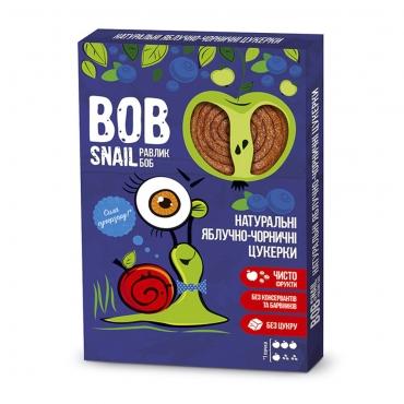 Пастила яблочно-черничная Bob Snail, 60 гр