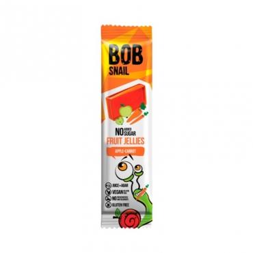 """Мармелад """"Яблоко-морковь"""" Bob Snail, 38 гр"""