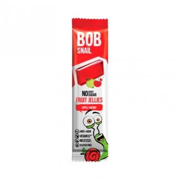 """Мармелад  """"Яблоко-вишня"""" Bob Snail, 38 гр"""