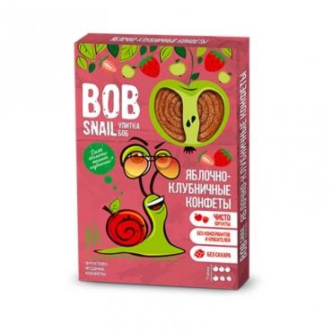 Пастила яблочно-клубничная Bob Snail, 60 гр