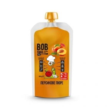 """Пюре фруктовое """"Персик"""" Bob Snail 400 гр"""