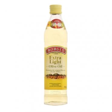 Масло оливковое рафинированное Extra light Borges, 500 мл