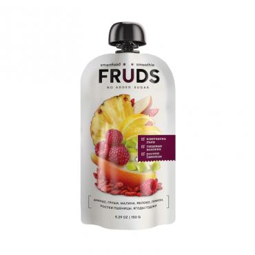 """Пюре фруктовое """"Груша-яблоко-малина"""" FRUDS, 150 гр"""