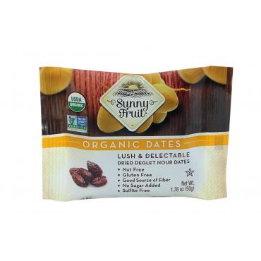 Органические сушеные финики Sunny Fruit, 50 г