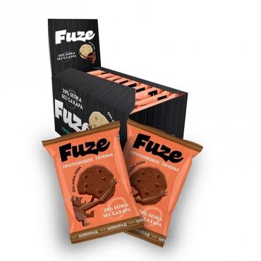 """Протеиновое печенье """"Шоколад"""" Fuze, 40 гр"""