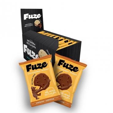 """Протеиновое печенье """"Апельсин-шоколад"""" Fuze, 40 гр"""