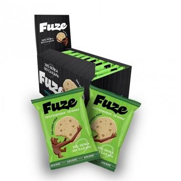 "Протеиновое печенье ""Арахис"" Fuze, 40 гр"