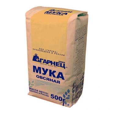 Мука овсяная Гарнец, 500 гр