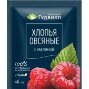 Каша овсяная с малиной Гудвилл, 40 гр