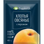 Каша овсяная с персиком Гудвилл, 40 гр
