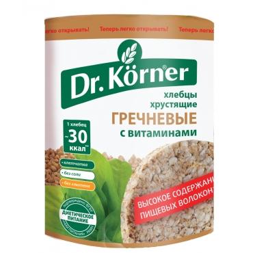 "Хлебцы хрустящие ""Гречневые"" Dr.Korner, 100 гр"