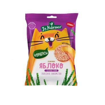 """Рисовые мини хлебцы """"С яблочным соком"""" Jr.Korner, 30 гр"""