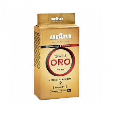 "Кофе молотый ""Qualita Oro"" Lavazza, 250 гр"