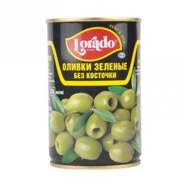 Оливки зеленые без косточки Lorado, 314 мл