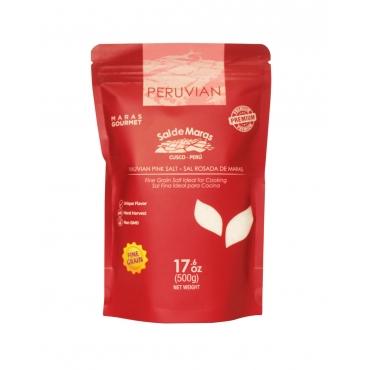 Соль розовая мелкозернистая MARAS GOURMET, 500 гр