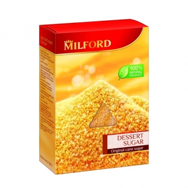 "Сахар тростниковый ""Десертный"" Milford, 500 гр"
