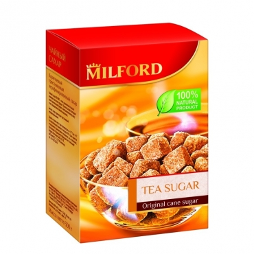 "Сахар тростниковый ""Чайный"" Milford, 300 гр"