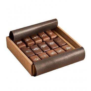 Ассорти соленой карамели Mojo Cacao, 133 гр (15 шт)