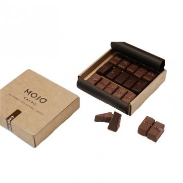 Ассорти шоколадно-ореховых конфет Mojo Cacao,160 гр