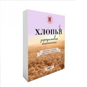 Хлопья зародышевые пшеничные МукаМол, 200 гр