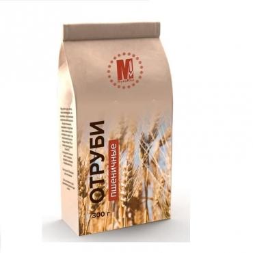 Отруби пшеничные МукаМол, 300 гр