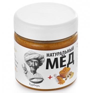 Мед взбитый с куркумой и имбирем Мядовы шлях, 200 гр