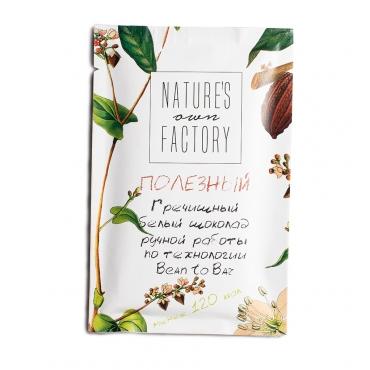 Белый шоколад с гречишным чаем Nature's own factory, 20 гр